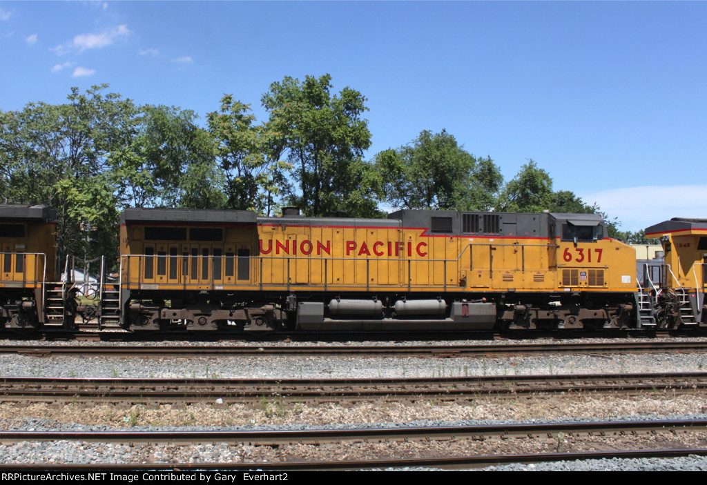 UP 6317 - Union Pacific