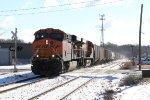 BNSF 5949 & 6287 bring Q335 west on Track 1