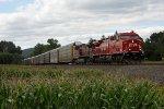 Rolling along the corn Fields