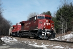 252 drifts past the gate as they roll towards Binghamton, seen passing through Hilcrest