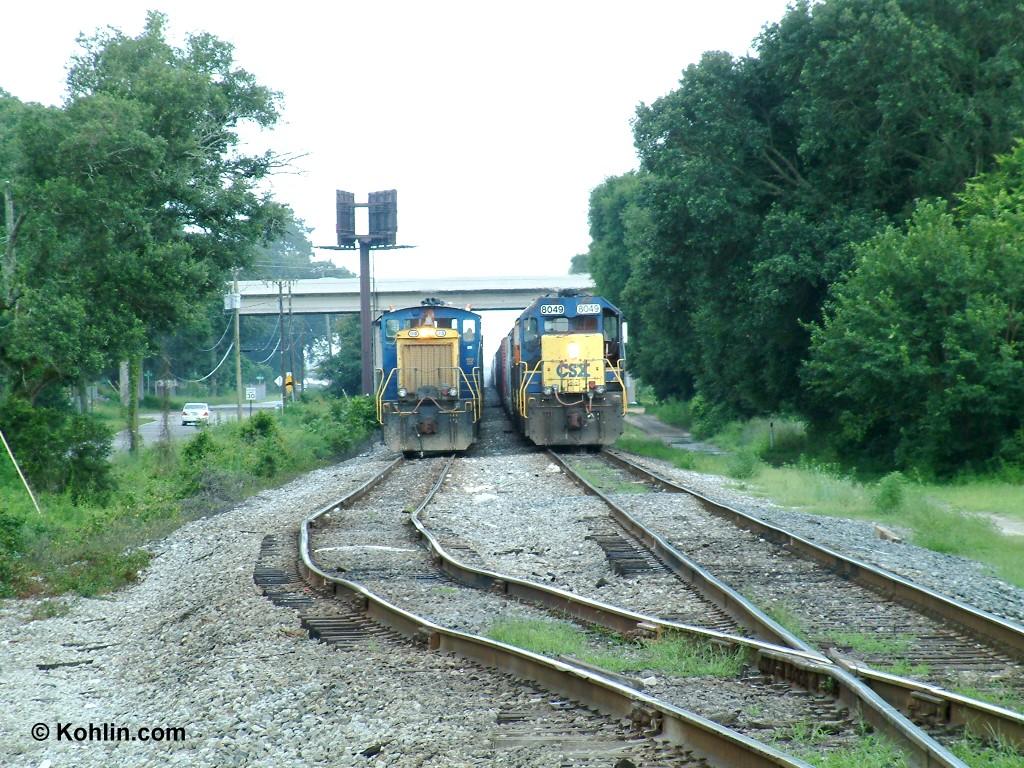 Departure track needs work