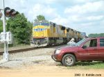 CSX train Q101 with UP power