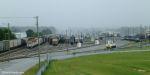 Rain over Goulding Yard