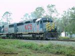 W843 with KCS 629, KCS 7022