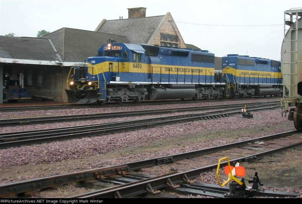 ICE 6403 and DME 6070