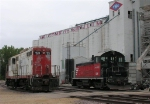 IMRL 123 and TCWR 1206 (at time of photo was Rail Works 1206),