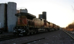BNSF 5020 and sisters, looking East,
