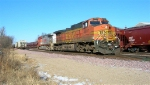 BNSF 4507 will be 2nd unit when shuttle is WB,