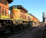 BNSF 5430 on siding,