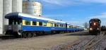 """DME 6084 and DME business car """"The Pioneer"""""""