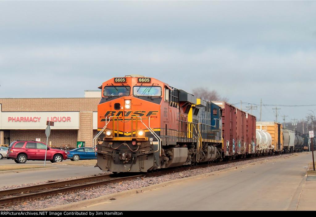 BNSF 6605 South