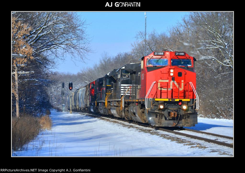 CN 2188, NS 2723, NS 8872, & CN 5638