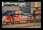 BNSF 761, 622, 723, 555