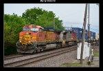 BNSF 4818 & 728