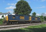 CSX 2381 and 6981