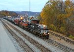 NS 8060 and BNSF 1075