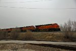 BNSF 7397 Leads a 5 unit Z train WB.