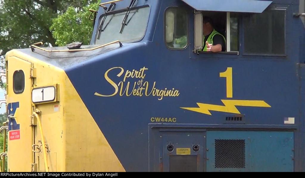 CSXT Spirit of West Virginia