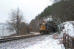 Fort Montgomery Tunnel CSX River Subdivision