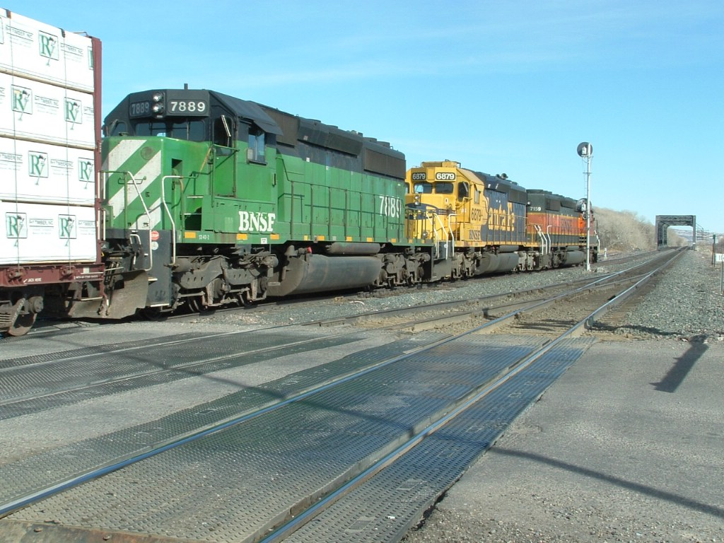 BNSF 7889 SD40-2