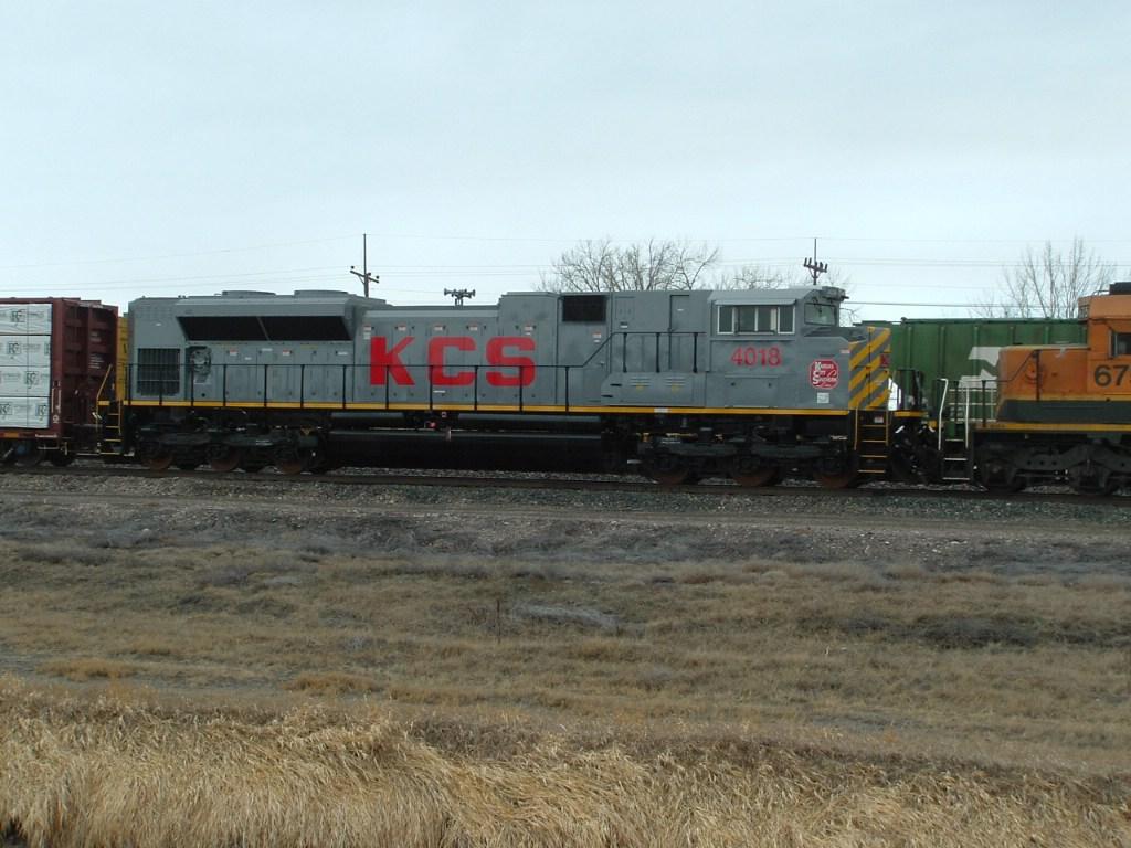 KCS 4018 SD70ACe fresh from Tacoma