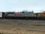 KCS 4018 SD70ACe fresh from Tacoma