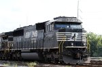NS 7001 sits in Glenwood Yard