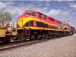 KCSM 2404, 4566 y 4062 Intermodal