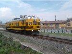 Sperry Rail Services SRS 143 Arribando a Morelia tras el paso de la 4078