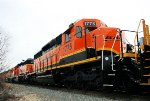 Newly repainted BNSF 1775