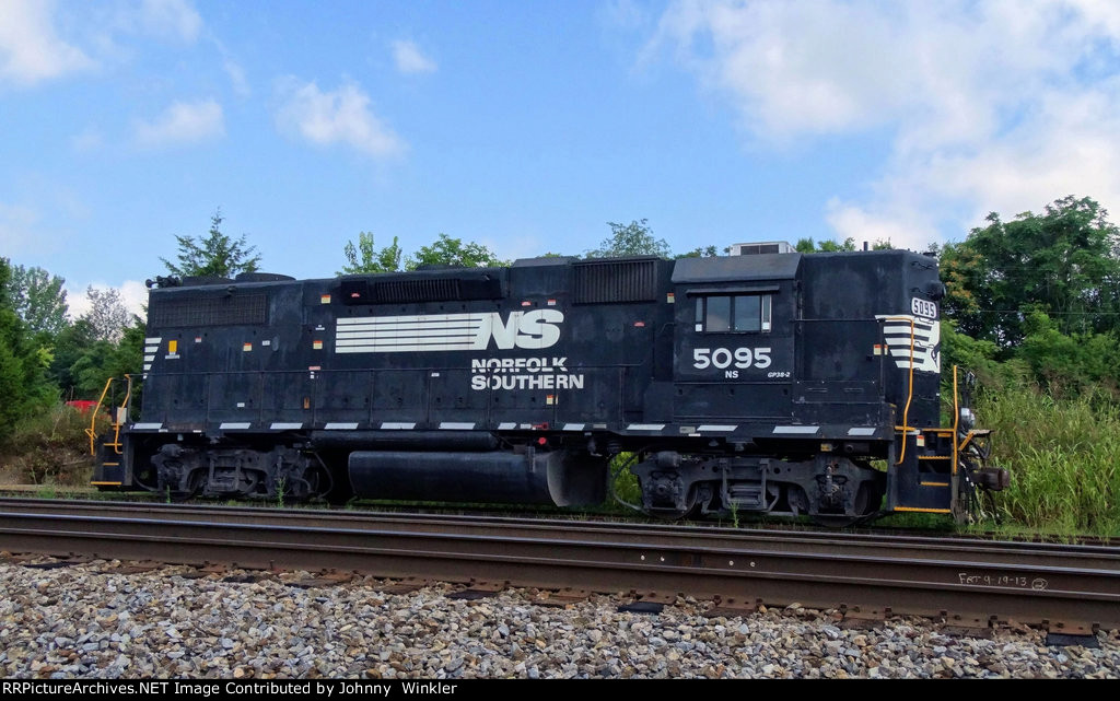 NS 5095 near Sugar Hollow Rd.