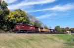 CP 9826 leads NS train 179