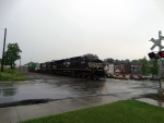 NS 8020 leads NS 23G in the rain