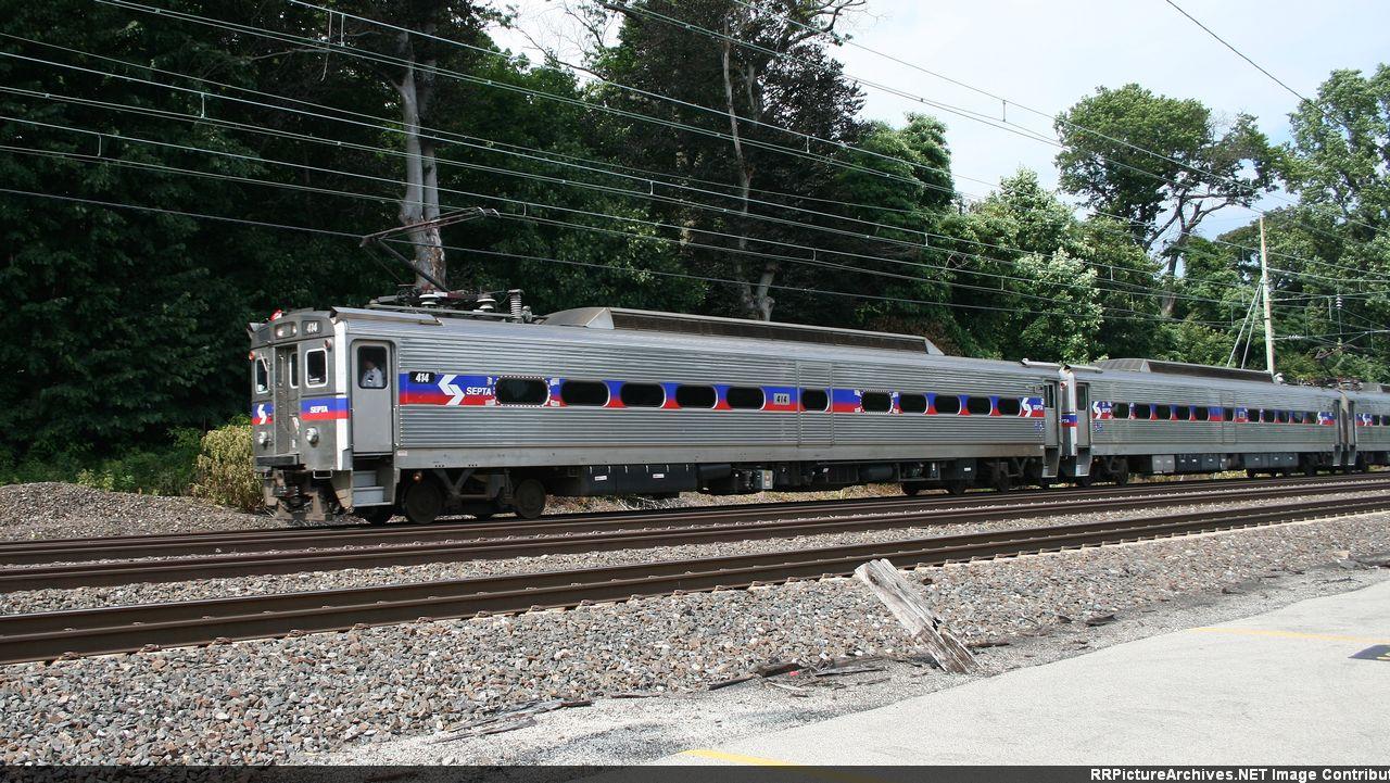 Regional Rail Train #543