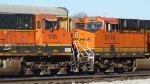 BNSF 1118 & 6716 sitting at Radnor Yard