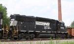 NS 4608 heads south on train 119