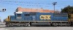 CSX 8523 crosses Hamlet Avenue