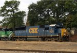 CSX 8503, one of the first YN3 repaints