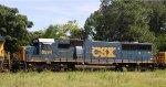 CSX 8594 on train S697-02