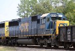 CSX 8594 heads north on train F742-09