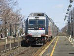 NJ Transit ALP-45DP Pushes an Eastbound