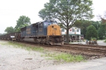 CSX 4745 Gives the Sealston coal train a shove