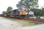CSX 4745 Gives the Sealston coal train a shove
