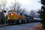 BNSF 8859 CSX Train K045 Crude Oil Empties