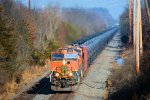 BNSF 977 6333 CSX Train K044 Crude Oil Loads