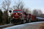 CP 8626 CSX Train K049 Crude Oil Empties