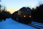 UP 4064 CSX Train K533 Bauxite Loads