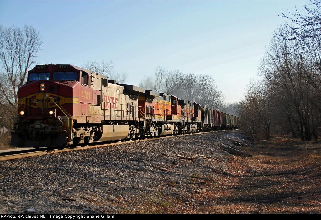 BNSF 4701