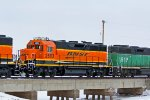 BNSF 2693 Trails 3rd out on this SB freight.