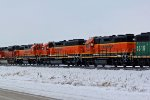 BNSF 2693& BNSF 1579 & 2695 all from Albia Iowa.
